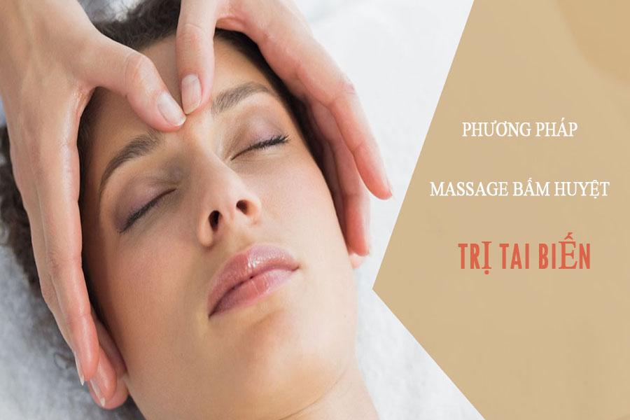 massage bấm huyệt trị tai biến