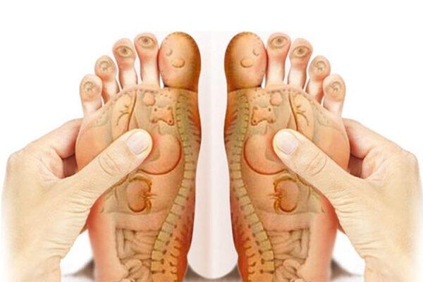 Những huyệt đạo trên bàn chân cực kì quan trọng bạn cần chú ý