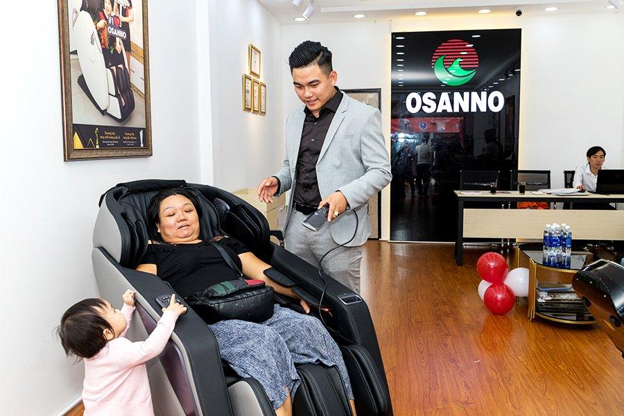 cửa hàng ghế massage Osanno tại P