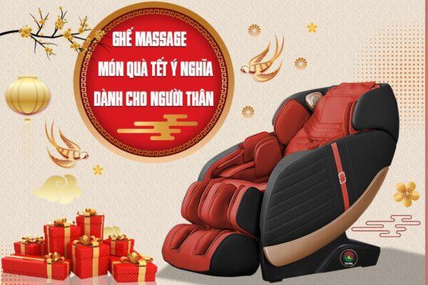 Mua ghế massage làm quà Tết, tại sao không?