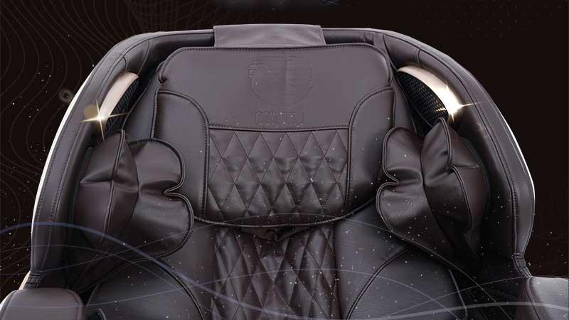 Chất liệu da ghế massage