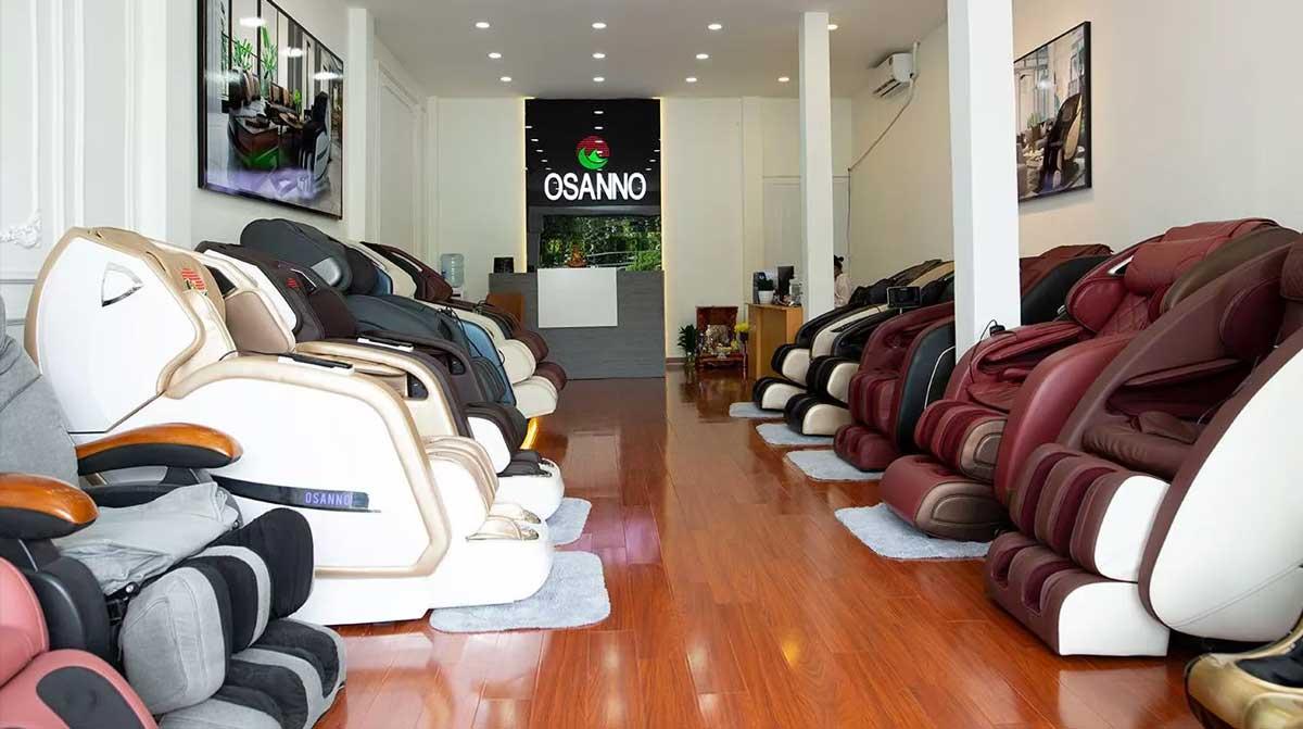 Cửa hàng ghế massage Osanno