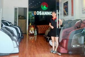 Cửa hàng ghế Massage Osanno Cần Thơ