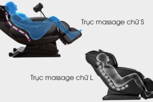 Khung Treo SL trên ghế massage