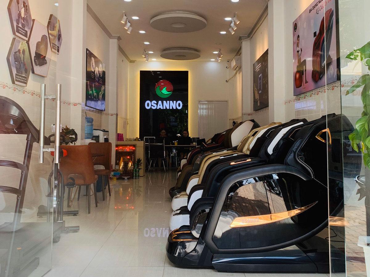 Cửa hàng ghế massage Tiền Giang