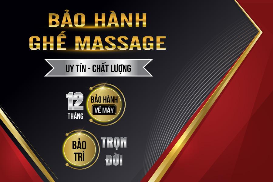bảo hành ghế massage giá rẻ