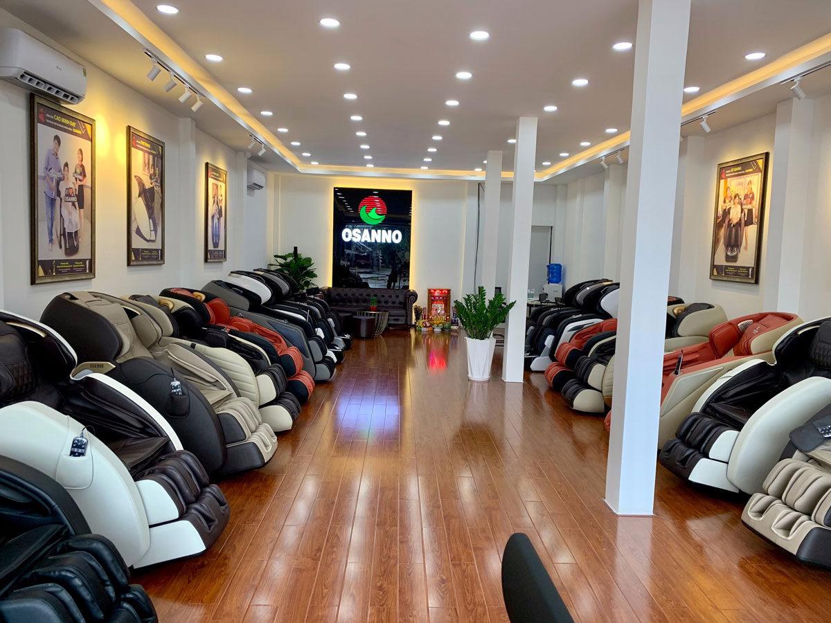 Cửa hàng ghế massage tại Kiên Giang