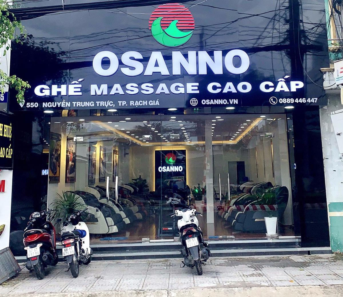 Cửa hàng ghế massage tại Rạch Giá, Kiên Giang
