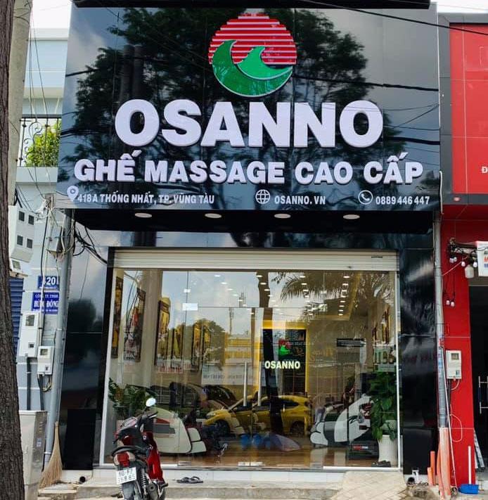 Cửa hàng ghế massage Osanno Chi nhánh Vũng Tàu